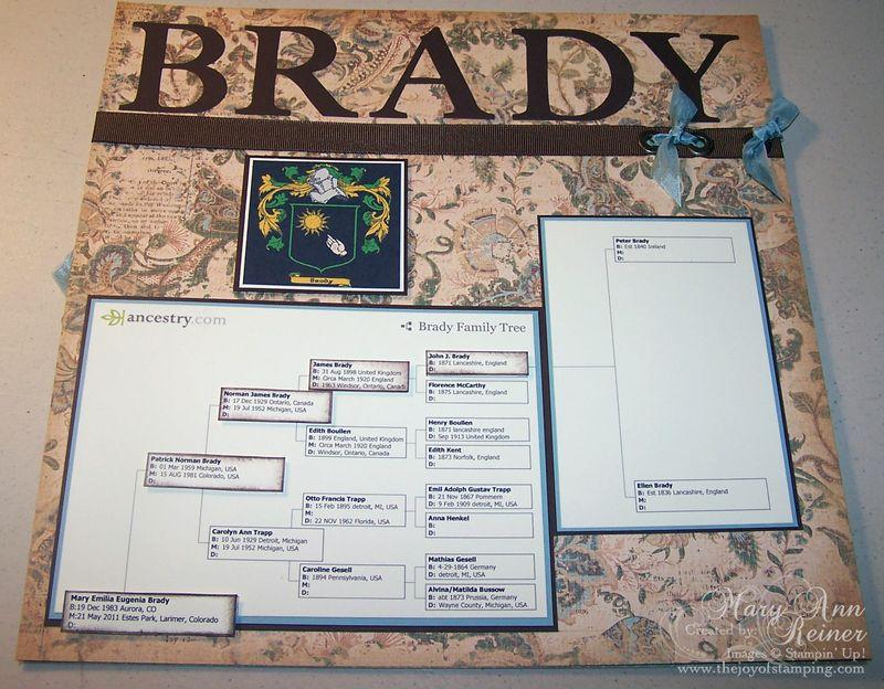 Brady SB page