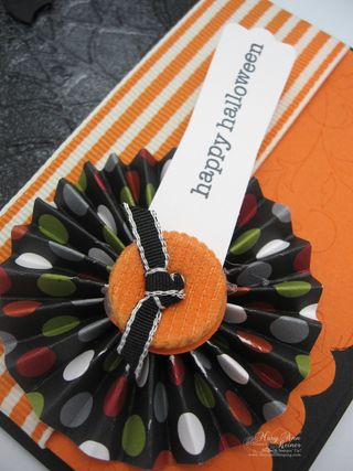 Halloween lollie close-up