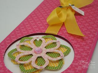 Blossom Builders thank you close up
