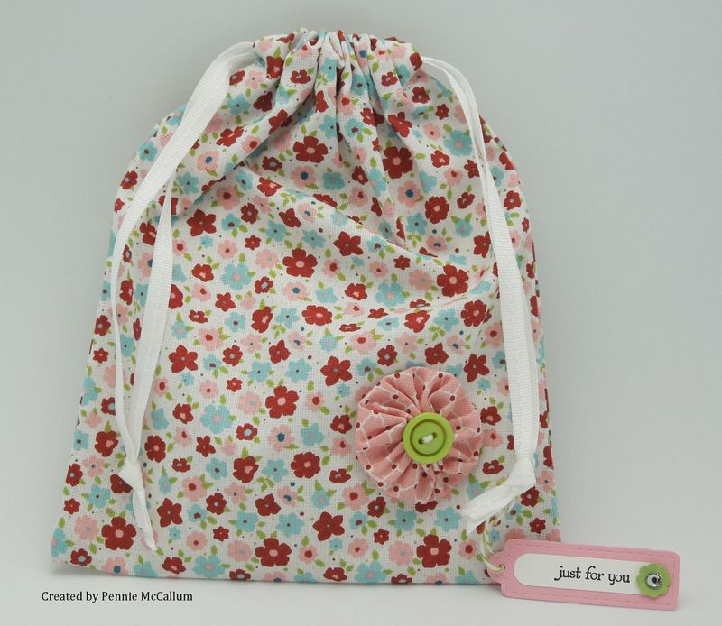 Twitterpated fabric bag