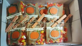 Many candy corn