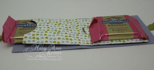 Sweet shop candy wallet open