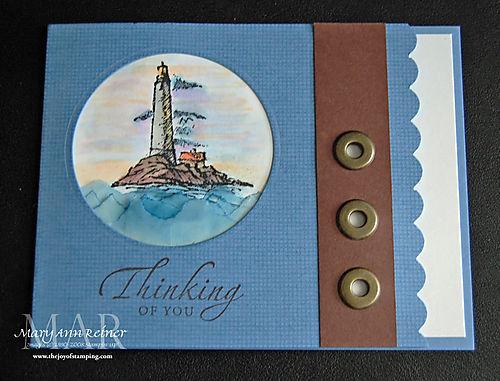 Vellum lighthouse