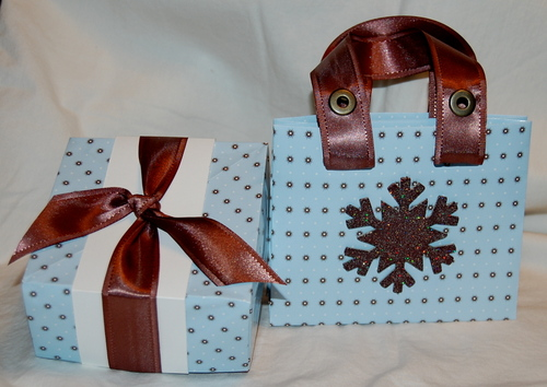 Gift tote and origami box