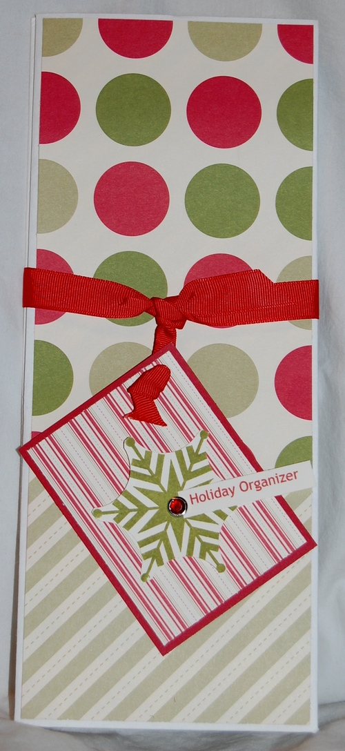 Holiday organizer front